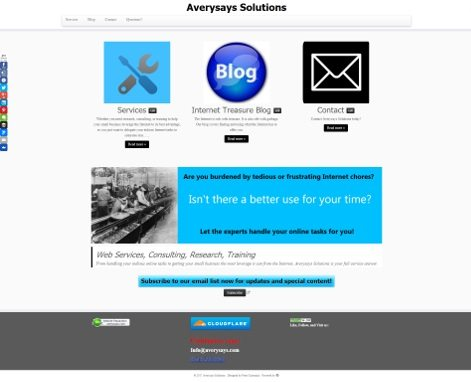 Averysays Solutions Old Site